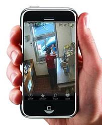 Routerbe rejtett mini Online-internet kamera