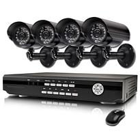 RC-5000HD Professzionális kameraszett 4db kamerával és rögzítővel.