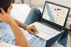 1 hét üzemidejű mini GPS nyomkövető